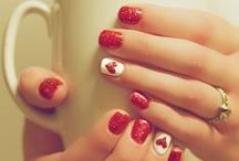 Hair, Nails, and Makeup / How in the heck are you supposed to get your nails to look like that?? / by Katie Gauger