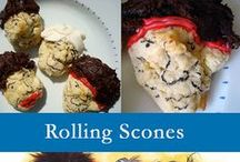Food that ROCKS! / Rock-n-Roll inspired food, snacks and desserts!