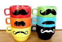 Mustache Gifts & Party / Funny mustache stuff is making us giggle here at Psychobaby. (Have you ever seen a baby in a mustache? THE BEST.) Enjoy our 'stache of fuzzy lipped funnies as we get inspired for our Hipster Holiday season!