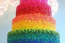 Evelyn's 3rd Rainbow Birthday