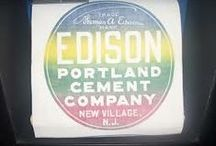 Edison Portland Cement / Cement Houses / Edison's work with Portland Cement