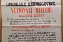 Plakkaten 1914-1918 Oostkapelle / Tijdens de Eerste Wereldoorlog bleef Nederland neutraal. Toch werd de bevolking op allerlei manieren geconfronteerd met de oorlog. Onder meer door verordeningen, aankondigingen, verboden en geboden die door de overheid werden uitgevaardigd. Wat zien we daarvan terug in de archieven? We nemen een kijkje in het archief van Oostkapelle, 1914-1918. * #WW1archives | #WW1 | #WO1