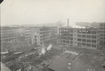 The Great Fire of 1914 / The big fire at Edison's Labs