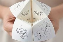Inspirational Wedding Invitations / 'Save the date' and invitation ideas