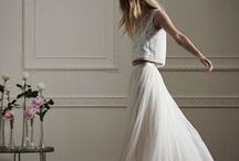 Two Piece Wedding outfit / Looking for an alternative to the wedding dress, why not go for a two piece...