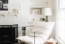 HOME / Home decor, home goals, home inspiration, living spaces, chic design, minimal living