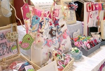 C R A F T Y - Stall Booth display ideas / Craft Fairs and events set up ideas
