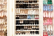 C L O S E T S / Closets: If I had enough space to build my perfect closet, these are what it would possibly look like! My current over-flow of clothing would be organized neatly with a spot for each shoe, necklace, hat, and dress. In a  fashionistas perfect world, she'd pin & build these: