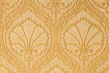 Golds   ANICHINI Fabrics / A lookbook of ANICHINI Fabrics and Wallcoverings in gold.