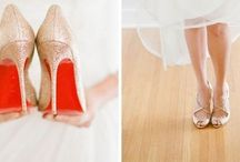 wedding shoes / A collection of classic, chic, playful and romantic wedding shoes for an anna bé bride.