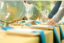 Travel Themed Wedding / Travel / map themed wedding ideas and inspiration / by Bellus Designs