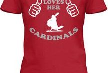 Cardinals / by Bonnie Campbell