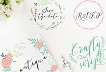 Fonts / by Laura's Crafty Life