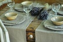 Linen / Inspiring images of one of our favorite fibers.