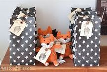 PARTY THEME - what does the fox say? / Fox and woodland themed party ideas