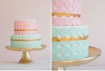 PARTY THEME - gingerbread making - pink mint gold white
