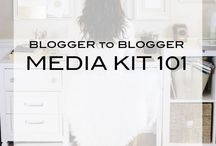 Blog Media Kits / Examples and instructions on how to create an amazing media kit for your blog. / by Laura's Crafty Life