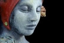 Inspiration: Dimensional Art / If the art isn't flat, it goes here. Dolls, sculpture, assemblage,  etc.