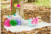 {Our Work} / A selection of our work, showing you some of the colourful items we've crafted and gorgeous shoots and weddings we've styled.