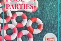 Pool parties / How to throw an epic summer pool party.