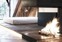 BY THE FIRE / Fireplaces / by Rayan Turner / The Design Confidential