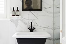 Bathe / Bathrooms and Powder Rooms that Inspire / by Rayan Turner / The Design Confidential