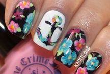 Design yo Nails  / Pamper yourself. Choose a design and get painting.  / by ♛Alison♛