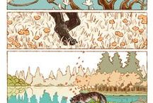 Comic Pages & Sequential Art / pretty stuff