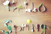 Primavera: flores e floral.
