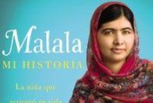 Malala. Mi historia. / PREMIO NOBEL DE LA PAZ 2014. Cuando los talibanes tomaron el control del valle de Swat en Pakistán, una niña alzó su voz. Malala Yousafzai se negó a ser silenciada y luchó por su derecho a la educación. El martes 9 de octubre de 2012, con quince años de edad, estuvo a punto de pagar el gesto con su vida.  Su historia nos hace creer en el poder de la voz de una persona para cambiar el mundo.