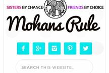 Mohans Rule! / Just a few things that the Mohan Sisters, bloggers at www.mohansrule.com, are digging right now.