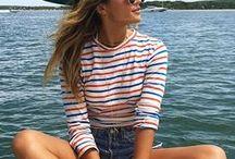 CONLEYS ♥ Streifen / Sommer Ahoi – Jetzt kommen die Rettungsringel! Der Marine-Look schlägt diesen Sommer besonders hohe Wellen. Lasst euch von unseren schönsten gestreiften Must-haves inspirieren.