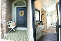 Entryway - The Beginning of a HOME / by Sarcie McFarland