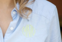 Monograms / by Laura Weiler
