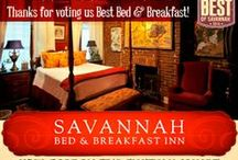 Savannah Bed & Breakfast Inn / Savannah's Premier Bed & Breakfast Inn at Chatham Square, is in the heart of the historic district.  Dating from 1853, the Inn is a block away from the splendor of Forsyth Park.  Experience our Southern hospitality and charm!