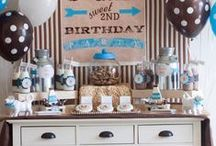 BOY Birthday Parties / by Sarcie McFarland