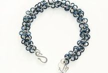 Fiona K. Designs - old pics / Hand made chainmaille jewellery, featuring sterling silver, antique copper, enamelled copper, and aluminium, as well as swarovski stones, and beads of all kinds.