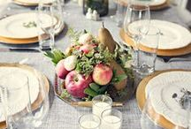 A Romantic Thanksgiving Wedding  / Holiday Wedding Inspiration.