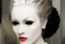 MAKEUP/Editorial/Haute / All sorts of Makeup that is Advante Guarde can be found here...