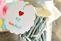 Gift Ideas for Teachers / Gifts to make for teachers.