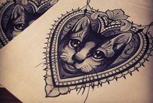 Ink not Mink - Mono / by Karen Maracetta