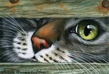 Cross Stitch - Animals: Cats, Dogs, etc / by Gwen Toews