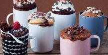 Mug Cake Recipes / Mug Cakes are so quick and easy to make! Try these recipes tonight.