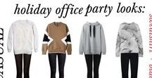 The Muse // Holiday Party Outfits / Inspiration for the office holiday party and other holiday get togethers | themuse.com/tags/holidays