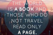 travel the world / I want to go to there