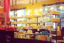 favorite places & spaces / what better place to be than at one of our brightly colorful & cheery nyc based Shobha Salons?