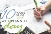 Organization & Planning / Organizing, planning, and managing your schedule. / by Home Educating Family