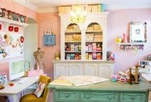 Craft Rooms / CutRateCrafts has 1000s of products to help organize your crafts. From cheap art boxes, sewing kits, and DIY organizational tips, you'll have the craft room of your dreams in no time.  / by CutRateCrafts