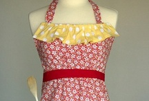 Gingerly Garnished Aprons / Aprons created by the Mother-Daughter team at Gingerly Garnished in St. Louis, MO! / by Carrie F.