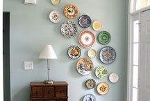 Wall Art / Beautiful art to adorn your wall. You will notice I have a thing for plates!  / by Carrie F.